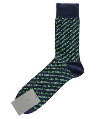 Balenciaga 617766 4A0B0 ALLOVER LOGO Socken