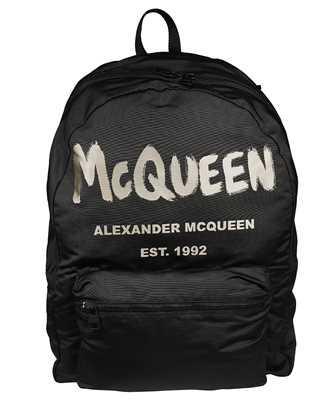 Alexander McQueen 662859 1AABW GRAFFITI OVERSIZED Backpack