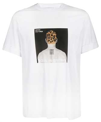 Neil Barrett BJT629S M585S ALBUM COVER T-shirt