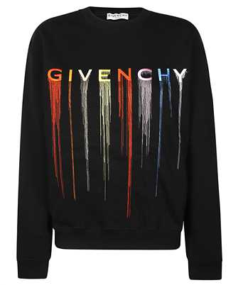Givenchy BWJ0193Z3R LOGO-EMBROIDERED Felpa