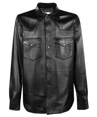 Gucci 624736 XNALJ LEATHER Shirt