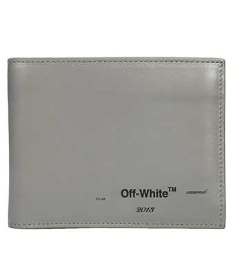 Off-White OMNC008F19853026 LOGO BIFOLD Wallet