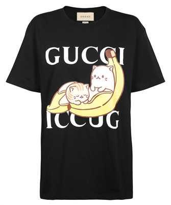 Gucci 615044 XJDGQ BANANYA COTTON T-shirt