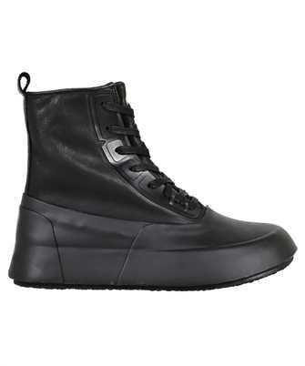 Ambush BMIE002F21MAT001 LEATHER MIX HI-TOP Sneakers