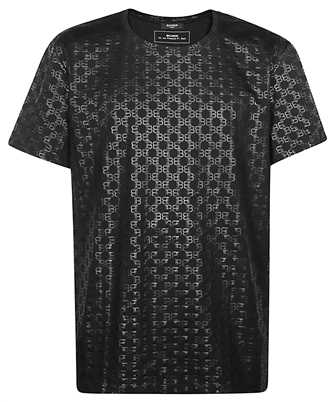 Balmain TH01601I269 ALL OVER MONOGRAM T-shirt