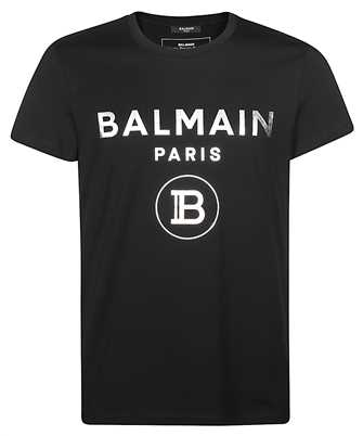 Balmain TH01601I315 METALLIC T-shirt
