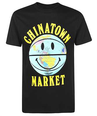 Chinatown Market 1990276 SMILEY GLOBE BALL T-shirt