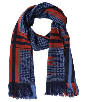 Etro 1H609 9909 PRINCE OF WALES WOOL Scarf