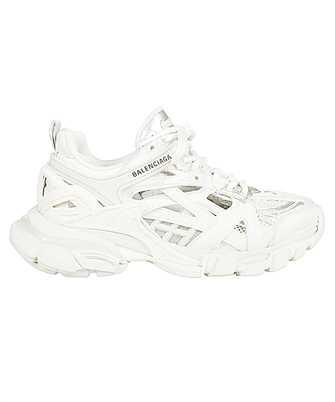 All The Balenciaga Track Shoes White Orange {Miami