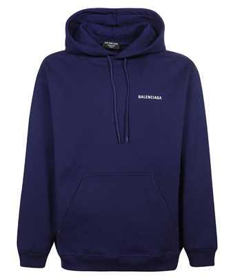 Balenciaga 600583 TIV84 LOGO MEDIUM-FIT Kapuzen-Sweatshirt