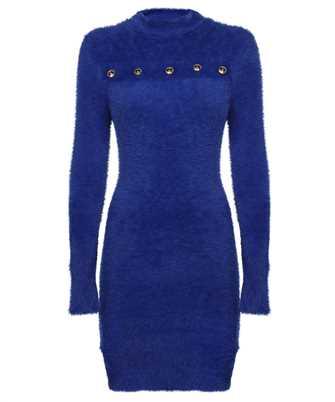 Versace Jeans Couture 71HAO822 CM07H BUTTON ACCENT Dress