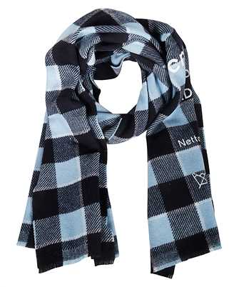 Acne FN-UX-SCAR000026 CHECKED LOGO Scarf