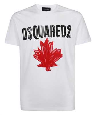 Dsquared2 S74GD0848 S23852 MAPLE LEAF T-shirt