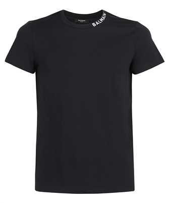 Balmain WH1EF006B129 PRINTED COLLAR T-Shirt