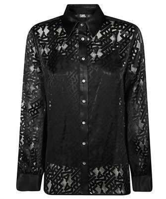 Karl Lagerfeld 206W1605 SATIN Shirt
