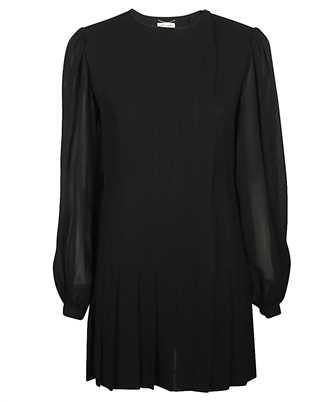 Saint Laurent 608954 Y103W PLEATED Dress