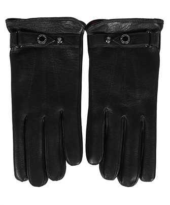 Alexander McQueen 624969 4B87Q NEW BIKER Handschuhe