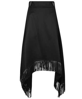 Saint Laurent 630950 Y5B35 FRINGED HANDKERCHIEF Skirt