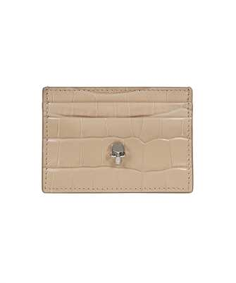 Alexander McQueen 632038 1JMHI SKULL Card holder