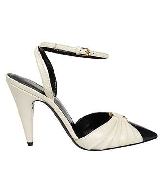 Saint Laurent 639528 1ZJ10 DIANE 95 RING Sandals
