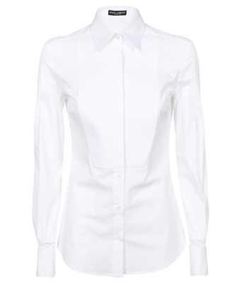 Dolce & Gabbana F5K50T FUEAJ STRETCH POPLIN TUXEDO Shirt