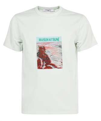 Maison Kitsune HM00142KJ0027 PHOTO TAG CLASSIC T-shirt