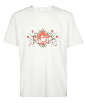 Saint Laurent 603303 YBPB2 JARDIN MAJORELLE T-shirt