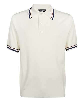 Dolce & Gabbana GX944T-JASIG PERFORATED Polo