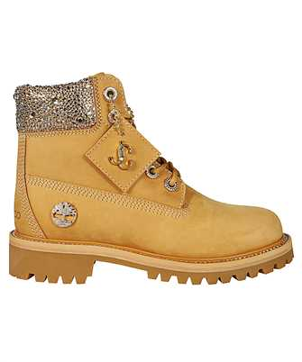 Jimmy Choo JC TIMBERLAND/F NCL CRYSTAL APPLICATION Boots