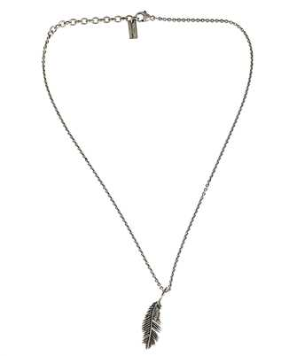 Saint Laurent 647155 Y1500 PALM LEAF PENDANT Necklace
