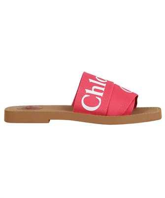 Chloé CHC19U18808 WOODY LOGO Slides