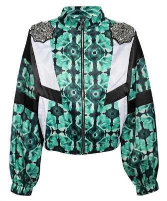John Richmond UWP21032GB K-WAY WITH PATCHES Jacket