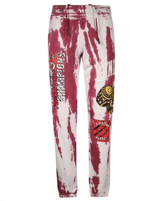 Chinatown Market 1950036 SMILEY CHAMPION 3 RINGS TIE-DYE Trousers
