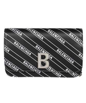 Balenciaga 593615 1NH6Y B CHAIN WALLET Bag
