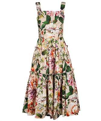 Dolce & Gabbana F6H5RT HS5F8 FLORAL ROSE Dress