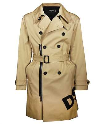 Dsquared2 S74AA0211 S41794 COTTON TWILL Coat