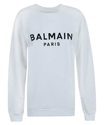Balmain VF13691B002 PRINTED LOGO Sweatshirt