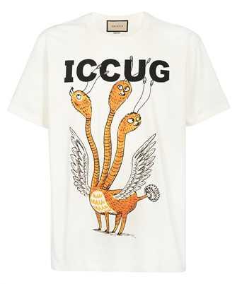 Gucci 548334 XJDJV FREYA HARTAS ICCUG PRINT T-shirt