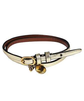 Alexander McQueen 551156 1YA0T MULTI WRAP Bracelet