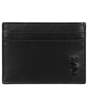 Saint Laurent 607603 1JB0U TINY MONOGRAM Card holder