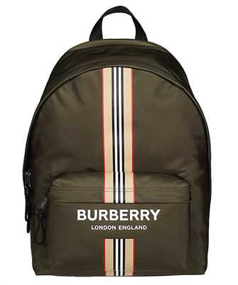 Burberry 8035765 LOGO AND ICON STRIPE PRINT ECONYL®  Backpack
