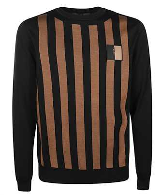 Fendi FAE536 ABT5 VERTICAL STRIPES Strick