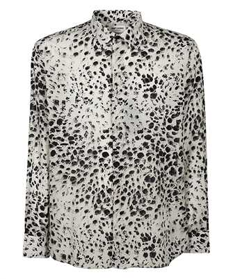 Saint Laurent 634639 Y2B45 SNOW-LEOPARD Camicia
