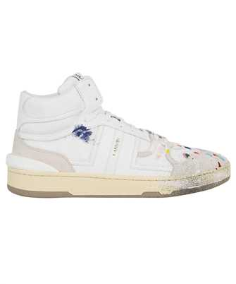 Lanvin FM SKDK01 NAGD E21 PAINTED MESH CLAY HIGH-TOP Sneakers