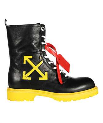 Off-White OMIA133F19D68038 WORKING Stiefel