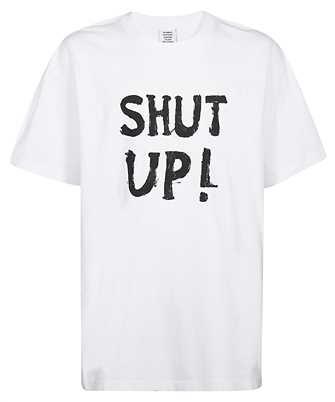 Vetements TR302 REGULAR SHUT UP T-shirt