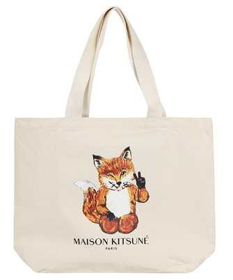 Maison Kitsune HU05133WW0008 ALL-RIGHT FOX XXL TOTE Bag