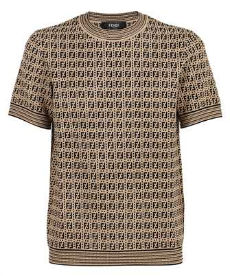 Fendi FZY426 AF59 FF INTERLACE KNIT T-Shirt
