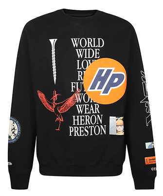 Heron Preston HMBA014F20JER002 COLLAGE Felpa