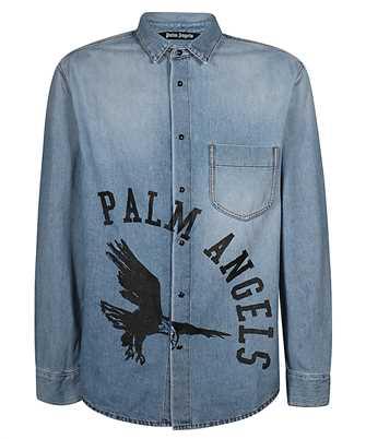 Palm Angels PMYD008E20DEN001 EAGLE Shirt